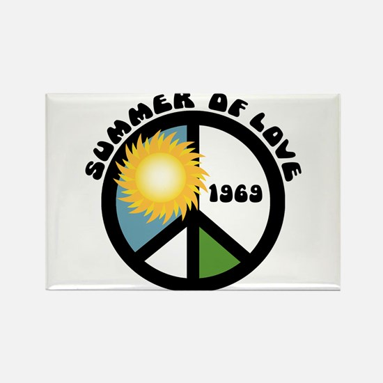 Summer of Love 69 Rectangle Magnet