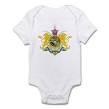 Iran Coat of Arms (Pahlavi Dy Infant Bodysuit