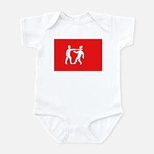 Benin Empire Flag Infant Bodysuit