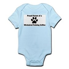 Proud: Wirehaired Pointing Gr Infant Creeper