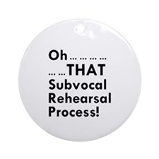 Subvocal Ornament (Round)