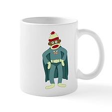 Sock Monkey Superhero Coffee Mug