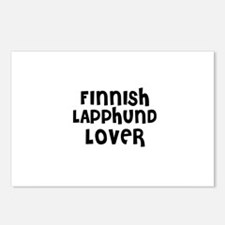 FINNISH LAPPHUND LOVER Postcards (Package of 8)