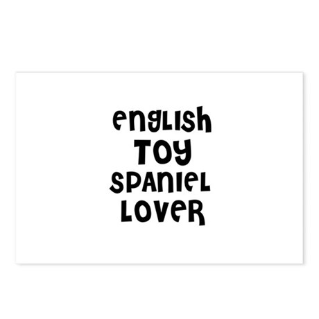 ENGLISH TOY SPANIEL LOVER Postcards (Package of 8)