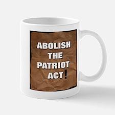 Abolish the Patriot Act Mug
