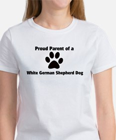 Proud: White German Shepherd Tee