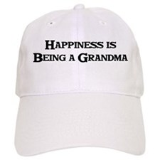 Happiness is Being a Grandma Baseball Cap