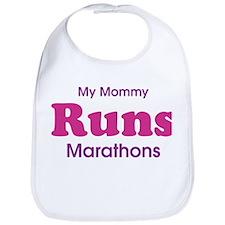 My Mommy Runs Marathons Bib