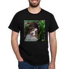 Red Tri Australian Shepherd (Aussie) T-Shirt