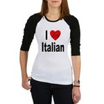 I Love Italian Jr. Raglan