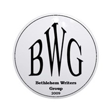 Bethlehem Writers Group BWG Ornament (Round)