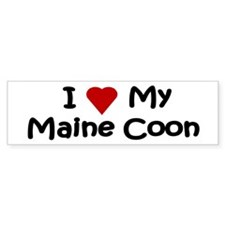 Maine Coon Bumper Bumper Sticker