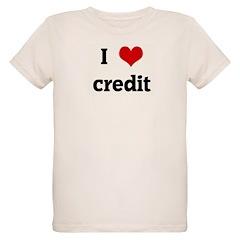 I Love credit T-Shirt