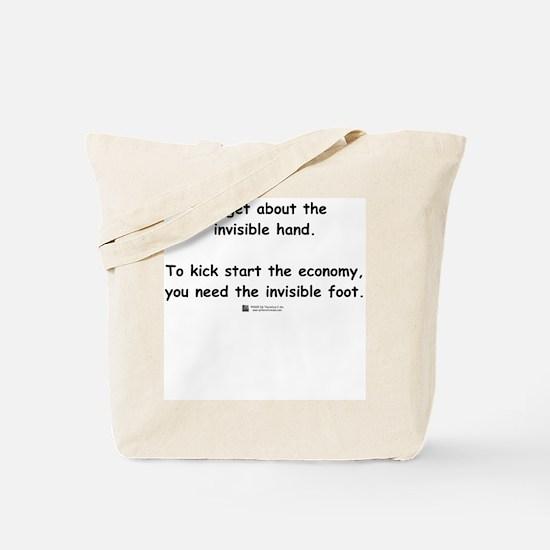 Invisible Foot -  Tote Bag