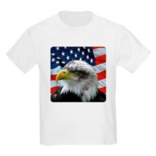 Kids Light Bald Eagle T-Shirt