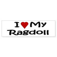 Ragdoll Bumper Bumper Sticker