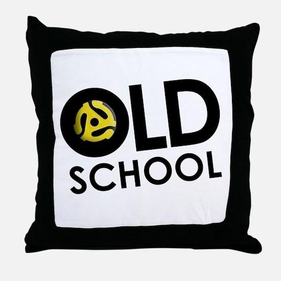 Retro 45 Throw Pillow