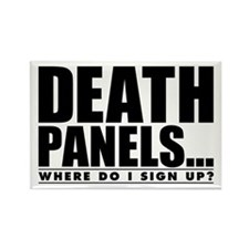 Death Panels Rectangle Magnet (10 pack)
