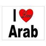 I Love Arab Small Poster