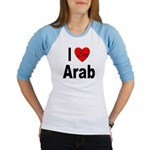 I Love Arab (Front) Jr. Raglan
