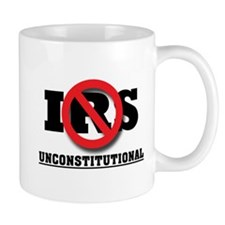 """IRS is Unconstitutional"" Mug"
