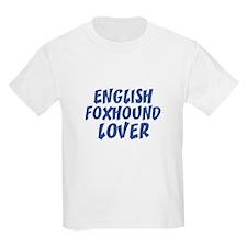 ENGLISH FOXHOUND LOVER Kids T-Shirt