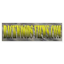 Backwoods Gear Bumper Bumper Sticker