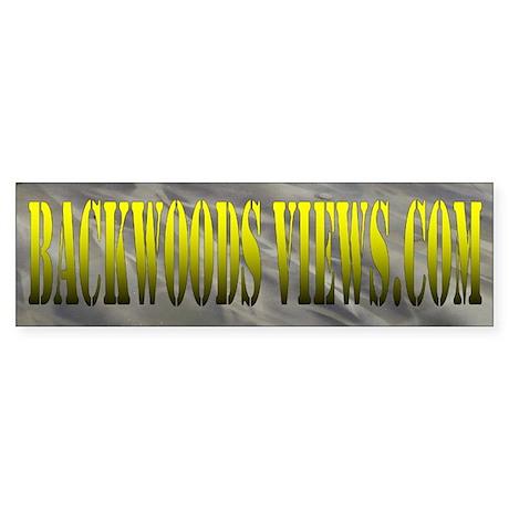 Backwoods Gear Bumper Sticker