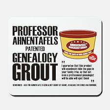 Genealogy Grout Mousepad