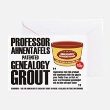 Genealogy Grout Greeting Cards (Pk of 10)