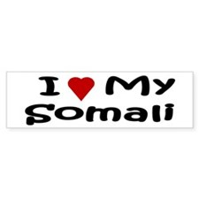 Somali Bumper Car Sticker