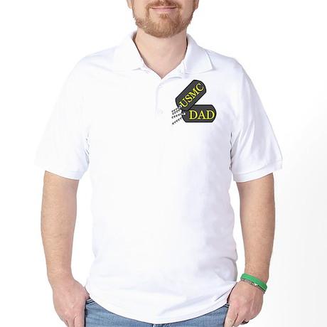 usmc dad Golf Shirt
