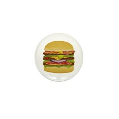 cheeseburger king Mini Button (100 pack)