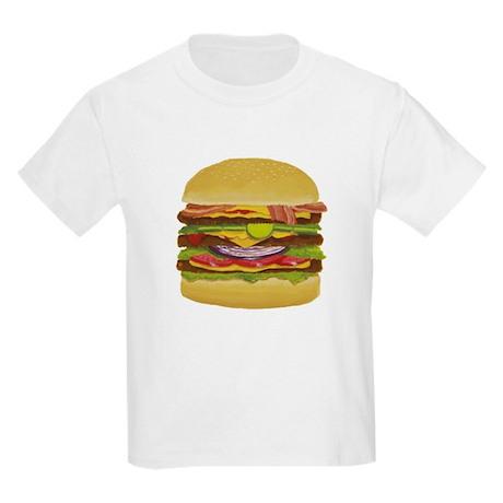 cheeseburger king Kids Light T-Shirt