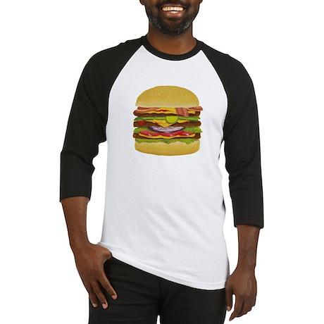 cheeseburger king Baseball Jersey