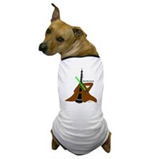 Oboe Wan Kenobi Dog T-Shirt