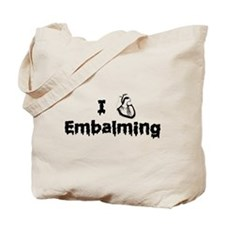 Embalming Tote Bag