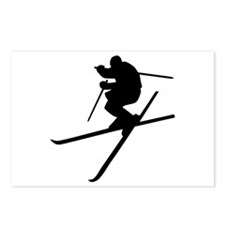 Skiing - Ski Freestyle Postcards (Package of 8)