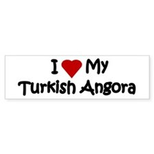 Turkish Angora Bumper Car Sticker