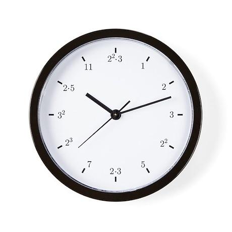 Primes Wall Clock
