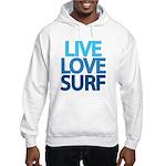 Live Love Surf Hooded Sweatshirt