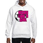 Kicks Like a Girl Hooded Sweatshirt