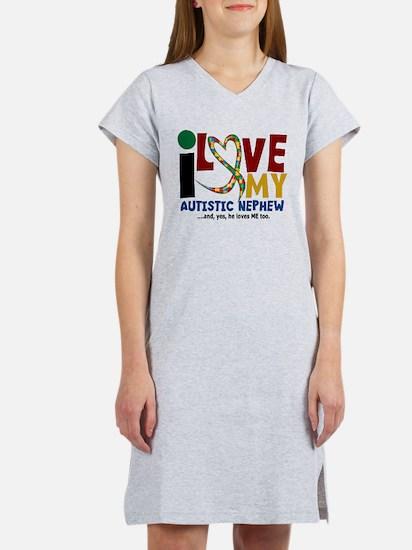 I Love My Autistic Nephew 2 T-Shirt