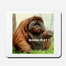 WANTTA PLAY? Mousepad