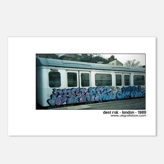 Dest Rok - London tube graffi Postcards (Package o