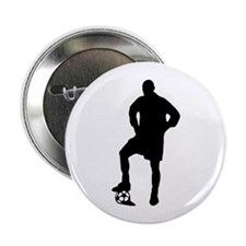 """Soccer Player 2.25"""" Button"""