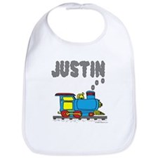 Train with Justin in Smoke Bib