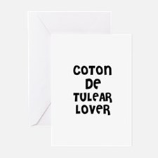 COTON DE TULEAR LOVER Greeting Cards (Pk of 10