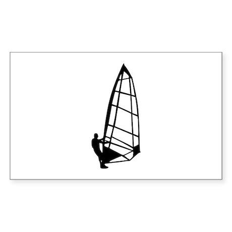 Windsurfing Rectangle Sticker