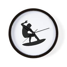 Surfing - Surfer Wall Clock